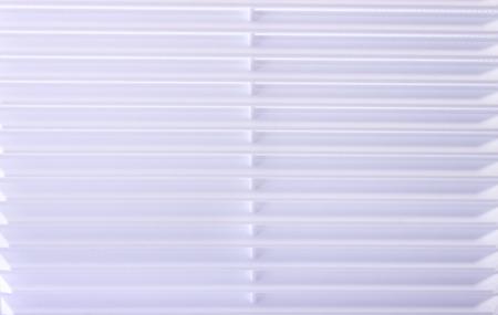 unevenly: The ventilation grille lighten unevenly