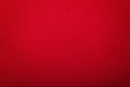Bright Red Cotton with Diagonal  Ridge 스톡 콘텐츠