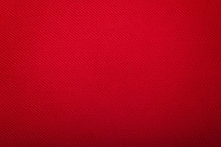 Bright Red Cotton with Diagonal  Ridge Stock fotó