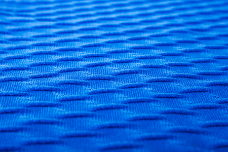 ridge of wave: Royal Blue Patch of the Cloth with Diagonal Ribs Stock Photo