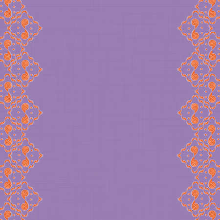 lace like: Bright Abstract Background with Lace Like Frame Illustration