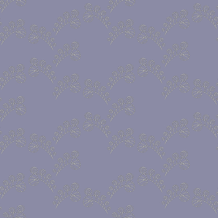 shimmer: Seamless Abstract Floral  Pattern with Light Shimmer on the Lilac Background