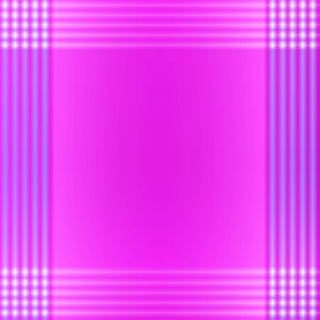 perimeter: Pink Background with Lines on the Perimeter Similar to  Handkerchiefs Cloth