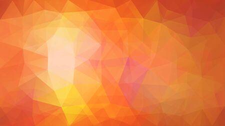semitransparent: Rectanglular Polygonal Background in Shades of Orange with Few Semitransparent Layers