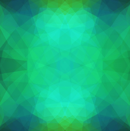 opacity: Abstract Symmetric  Pattern in Polygonal Style made Like Human Face.