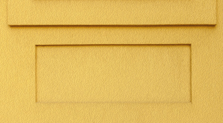 ledge: Yellow Textured Background with Square Ledge and Recess