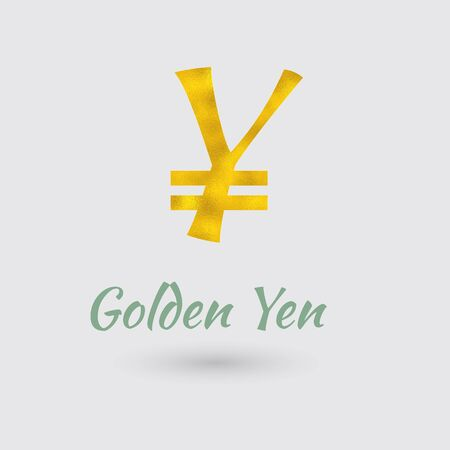 Symbol Of The Riel Currency With Golden Texture Text With The