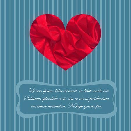 italics: Classic Greeting Card Illustration