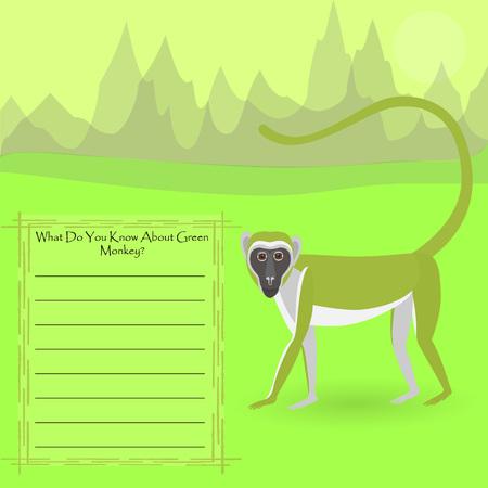 African Green Monkey