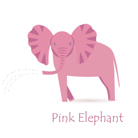 keystone: Pink Elephant Calf