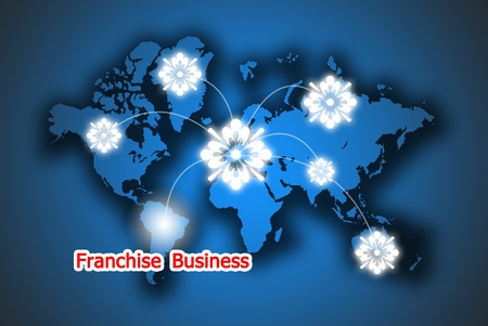 The beauty button franchise business in the world photo