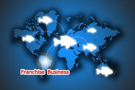 The food button franchise business in the world photo