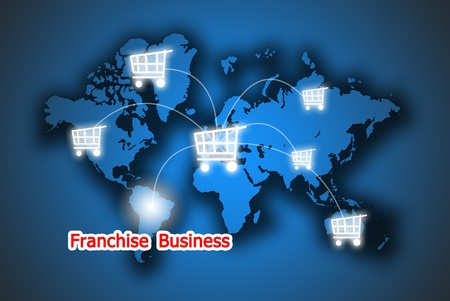 The retail button franchise business in the world photo