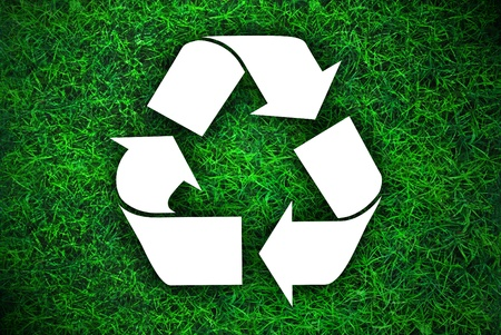 The ecology of recycle,reuse and reduce photo