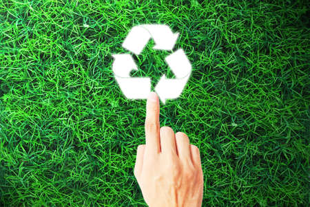 The ecology of recycle,reuse and reduce Stock Photo - 9729241