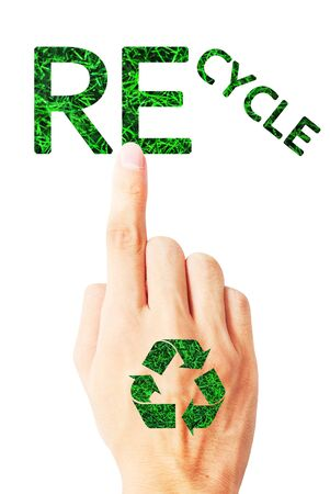 The ecology of recycle,reuse and reduce Stock Photo - 9849842