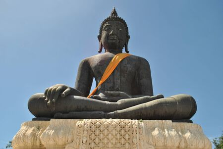 biggest: Largest bronze buddha statue in the world