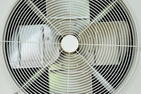 ventilate: Close up of outside unit air condition machine