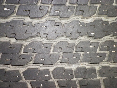 Close up texture background surface tire car          photo