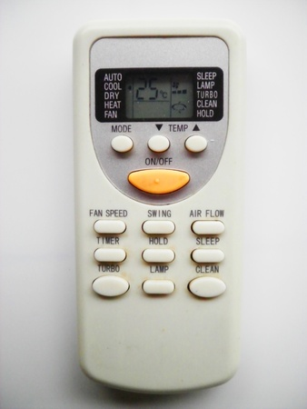 Vintage remote control for an air conditioner            photo