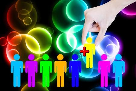 sociologia: Motores de búsqueda mano elija agregar más personas firmar