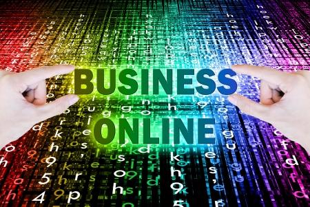 手を選ぶし、ボケ味をボタン ビジネス オンライン単語を持ち上げる