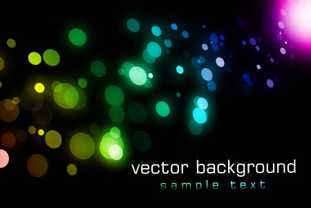 Abstract background bokeh graphic digital illustration illustration