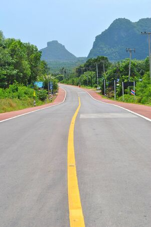 Road is very smooth and very beautiful photo
