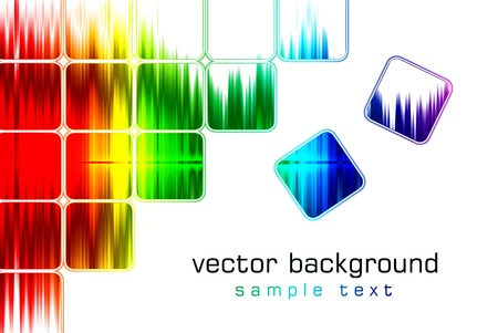 Abstract vector background bokeh graphic digital illustration