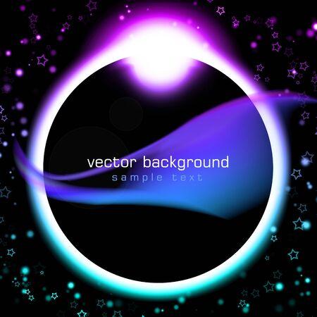 Black moon abstract beautiful art photo