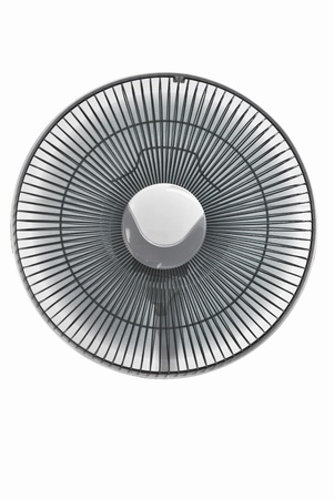 The electronic fan is on the white background Stock Photo - 17308451