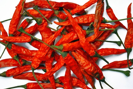 pimento: Big red spicy peppers of Thailand