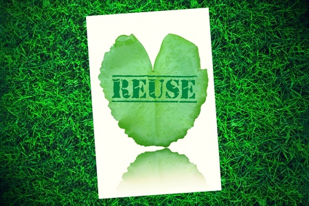 reduce: Recycle reuse reduce environment background
