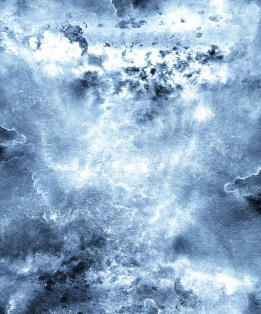Efecto acuoso de Grunge acuarela abstracta o tinta de salpicadura líquida de pintura.