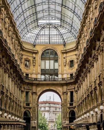 lattice window: Galleria Vittorio Emanuele II - Ottagono