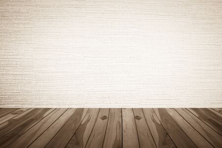 brownish: Wooden floor on Brownish background, Brownish and white colors Stock Photo