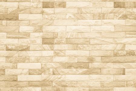 Schwarze und weiße Mauer Textur Hintergrund / Wand-Textur-Hintergrund Innen stein muster sauber Betonraster unebene Ziegel Design Stapelboden. Standard-Bild