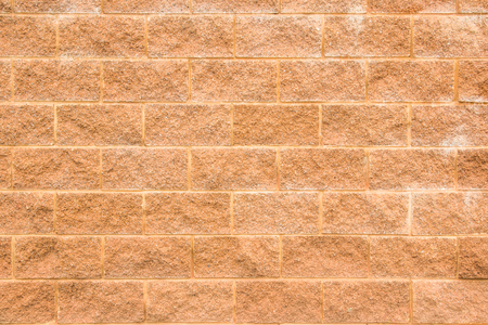 Red and Orange brick wall texture background or wallpaper abstract paint to flooring and homework.