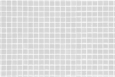 Bianco e grigio la foto reale ad alta risoluzione della parete delle mattonelle o il fondo interno senza cuciture e struttura del mattone.