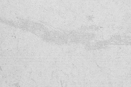 Weiße Betonwand für den Innen- oder Außenbereich mit polierter Oberfläche. Zement hat Sand und Stein aus Ton Vintage, natürliche Muster, alte Antiquitäten, Design-Arbeitsboden-Texturhintergrund. Standard-Bild