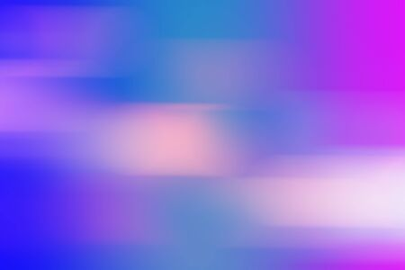 Colorful geometric blurred gradient mesh neon abstract blurred nature background. Digitally generated image of blue light soft colored and stripes moving fast over texture background with copy space.