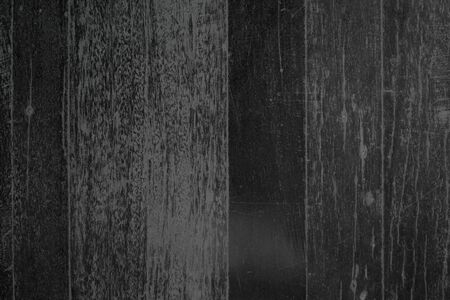 Wood plank Black texture background. Wooden wall all antique cracking furniture painted weathered white vintage peeling wallpaper. Plywood or woodwork bamboo hardwoods.