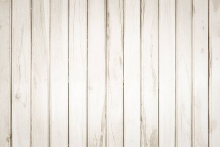 Wood plank brown texture background. wooden wall all antique cracking furniture painted weathered white vintage peeling wallpaper. Plywood or woodwork bamboo hardwoods. Stock Photo