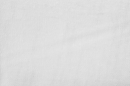 White abstract cotton towel mock up template fabric on background. Cloth Wallpaper of artistic grey wale linen canvas. Cloth Blanket or Curtain of pattern and copy space for text decoration. 版權商用圖片