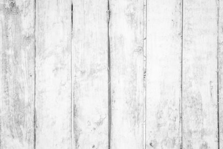 Old grunge wood plank texture background. Vintage white wooden board wall have antique cracking style background objects for furniture design. Painted weathered peeling table woodworking hardwoods. Stock fotó