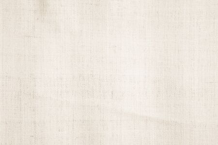 Cream abstract cotton towel mock up template fabric on background. Cloth Wallpaper of artistic grey wale linen canvas. Cloth Blanket or Curtain of pattern and copy space for text decoration. Stock Photo