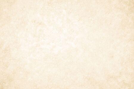 Cremefarbene Betonwand für Innen- oder Außenbereiche mit poliertem Beton. Zement hat Sand und Stein aus Ton Vintage, natürliche Muster, alte Antiquität, Design-Kunstwerk-Boden-Textur-Hintergrund.