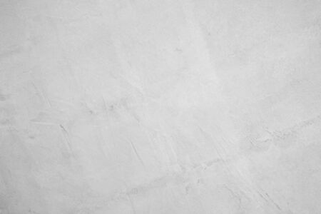 White concrete wall for interior or outdoor exposed surface polished. Cement have sand and stone of tone vintage, Grey natural concrete loft patterns old antique, design work floor texture background.