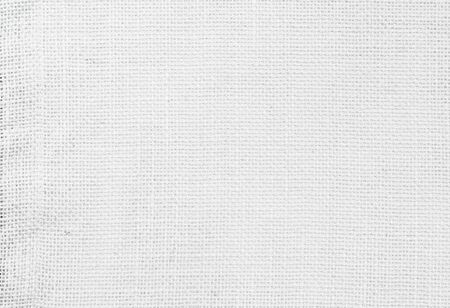White abstract cotton towel mock up template fabric on background. Cloth Wallpaper of artistic grey wale linen canvas texture. Cloth Blanket or Curtain of pattern and copy space for text decoration. Imagens