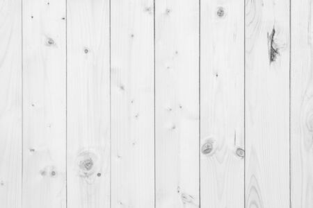 Old grunge wood plank texture background. Vintage white wooden board wall have antique cracking style background objects for furniture design. Painted weathered peeling table woodworking hardwoods. 写真素材